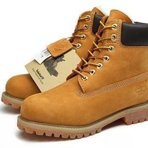 Ботинки Тимберлэнд зимние с мехом