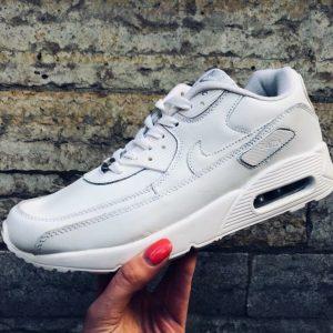 Кроссовки Nike Air Max 90 белые