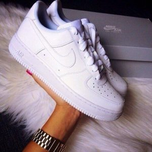 Кеды Nike Air Force белые