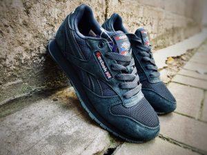Кроссовки Reebok Classic темно-синие
