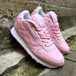 Кроссовки Reebok Classic розовые