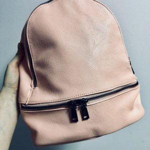 Женский розовый рюкзак R-18