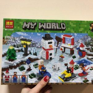 Конструктор BELA MY WORLD No.11029 Christmas