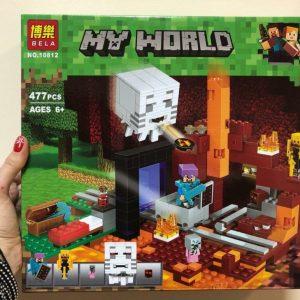 Конструктор BELA MY WORLD Портал в подземелье