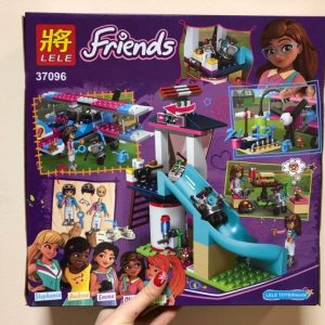 Конструктор LELE Friends 3096 Аэродром