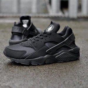 Кроссовки Nike Air Huarache черные