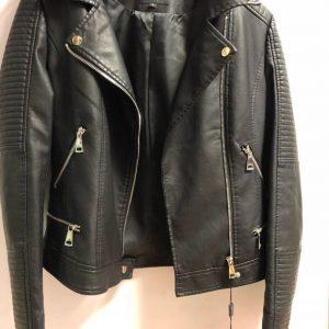 Женская кожаная куртка Monkl