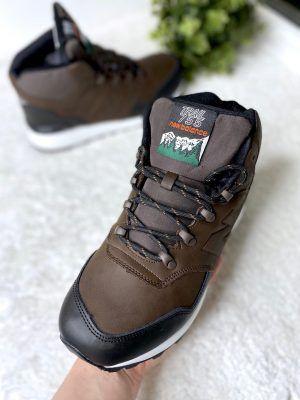 Кроссовки New Balance 755 Trail высокие коричневые с мехом