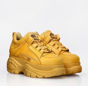 Кроссовки Буффало желтые
