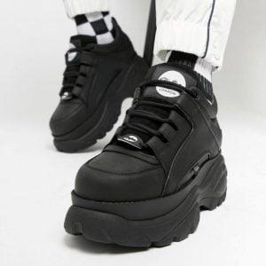 Кроссовки в стиле Buffalo черные