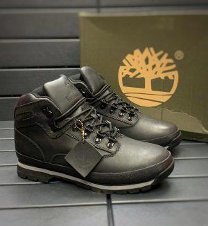 Ботинки Тимберленд черные