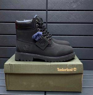 Ботинки зимние Timberland 6 Inch черные
