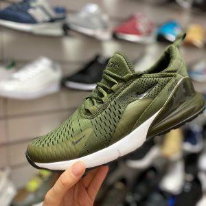Кроссовки Nike Air Max 270 зеленые