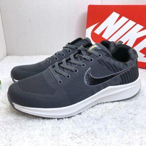Кроссовки Nike Zoom большие темно-серые