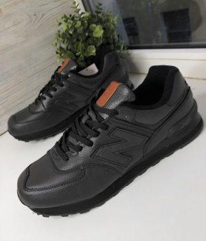 Кроссовки New Balance 574 черные большие
