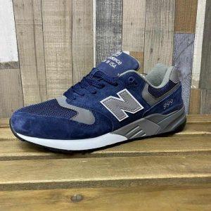Кроссовки  Нью Баланс 999 cиние с серым