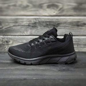 Кроссовки Nike черные летние