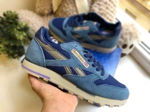 Кроссовки Reebok Classic голубые