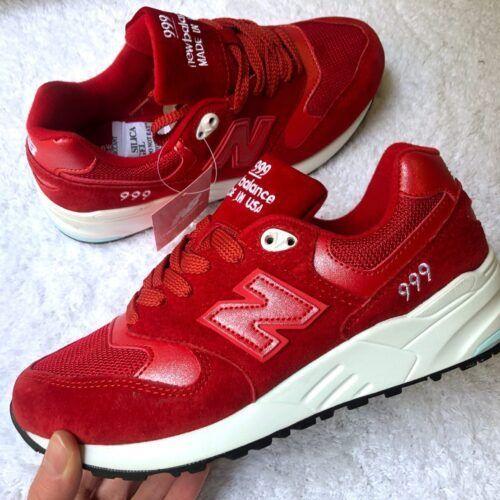 кроссовки женские красные New Balance