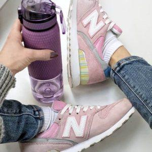 Женские кроссовки NB 996 розовые Роза