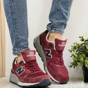 Кроссовки New Balance 999 бордовые
