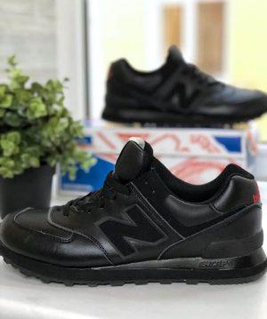 Кроссовки New Balance 574 черные Локи