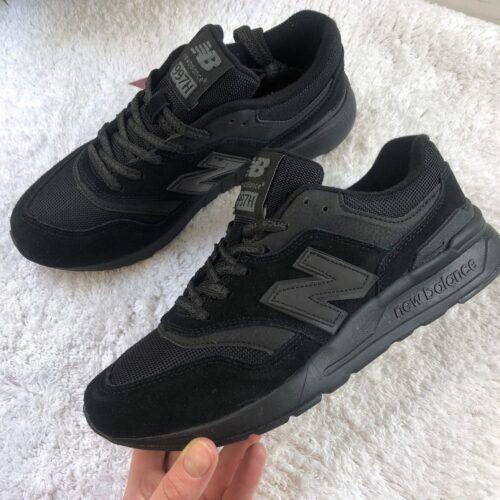 Кроссовки New Balance 997 черные высокие СПб