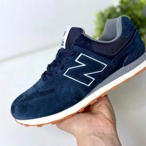 Кроссовки NB 574 темно-синие Агат