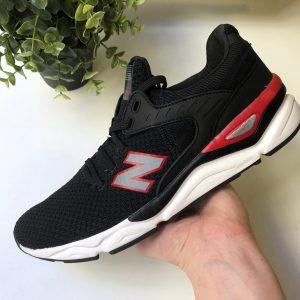 Кроссовки Нью Баланс X 90 черные с красным