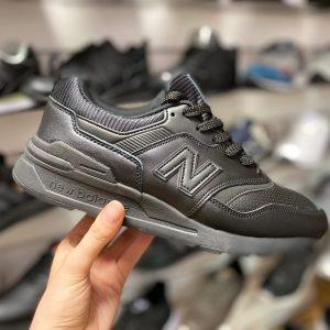 Кроссовки New Balance 997 черные кожаные Петербург