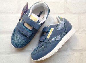 Детские кроссовки Reebok голубые