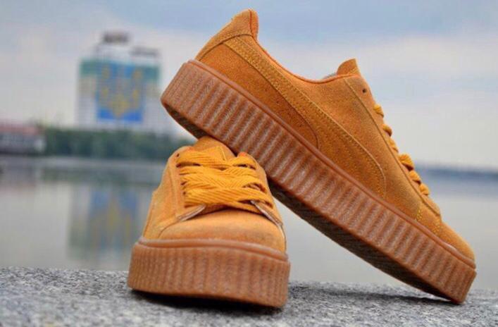 кроссовки Puma by Rihana желтые, размеры 36-39