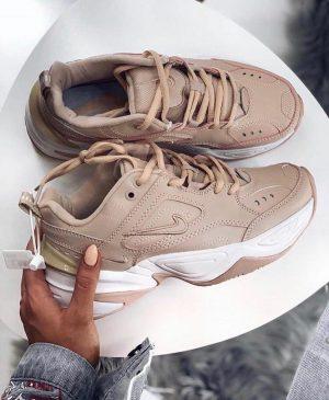 Кроссовки Nike M2K Tekno персиковые