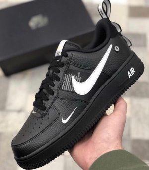 Nike Air Force 1 '07 LV8 Utility Лимитированные черные