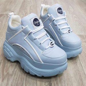 Женские кроссовки Boffolo голубые