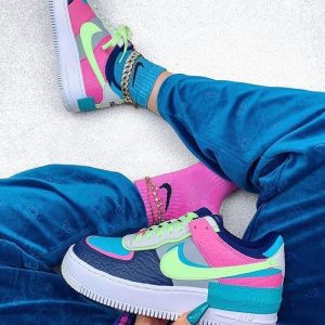Кроссовки Nike Air Force 1 Shadow Lime-Pink