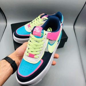 Кроссовки Nike Air Force 1 Shadow Lime-Pink