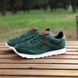 Кроссовки Reebok зеленые