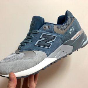 Кроссовки New Balance 999 голубые с синим