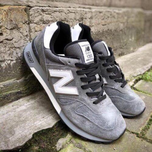 Мужские кроссовки Нью Баланс серые