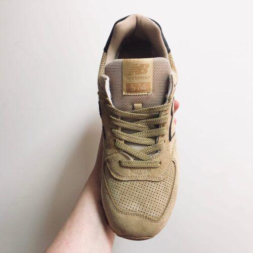 Мужские кроссовки CПБ бежевые New Balance