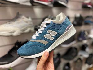 Кроссовки Нью Баланс 997 синие