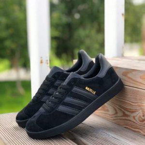 Кроссовки Adidas Gazzele черные