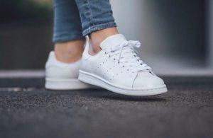 Низкие кеды Adidas Stan Smith белые