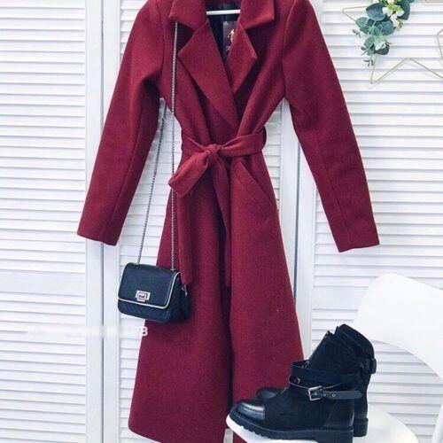 Боддовое женское пальто