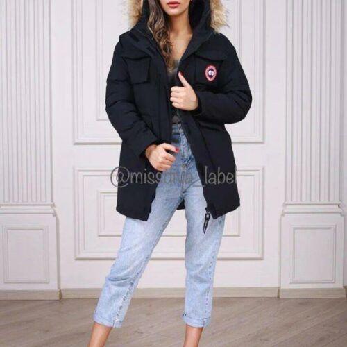 Женская зимняя куртка Canada Goose черная