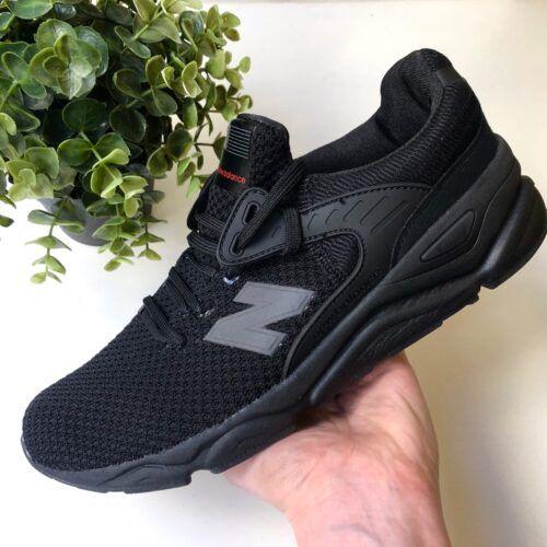 черные кроссовки текстиль X-90