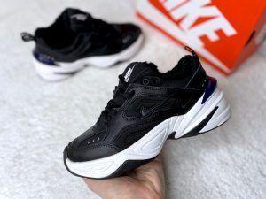 Зимние кроссовки Nike Tekno черные