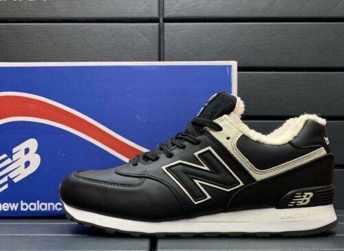 кроссовки Нью Баланс зимние мужские черные