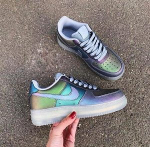 Кроссовки Nike Air Force 1 LV8 Хамелеон